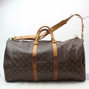 Auth Louis Vuitton Keepall Bandouliere #1808L28